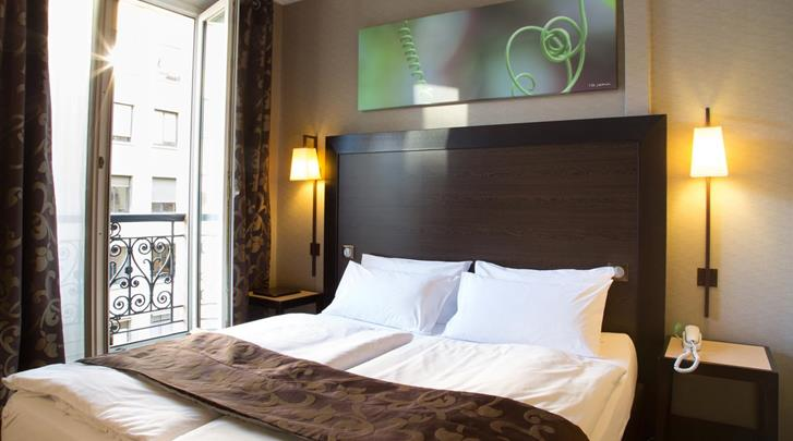 Parijs, Hotel Andre Latin, Standaard kamer