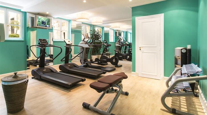 Parijs, Hotel Castille, Fitnessruimte