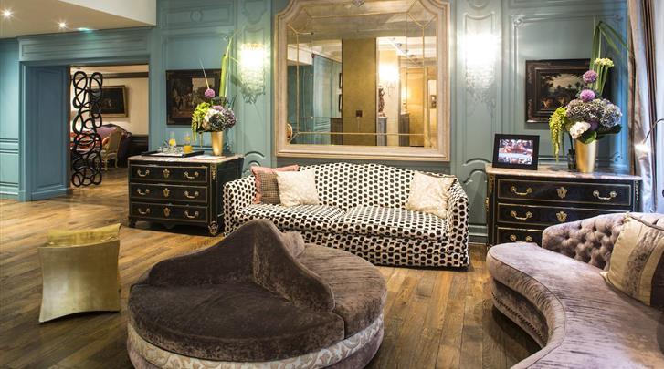 Parijs, Hotel Castille, Lobby