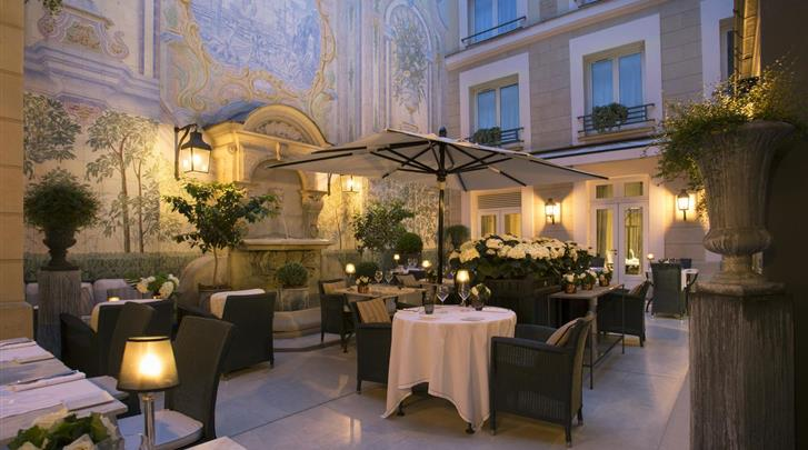 Parijs, Hotel Castille, Patio