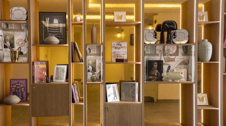 Parijs, Hotel Des Mines, Lobby