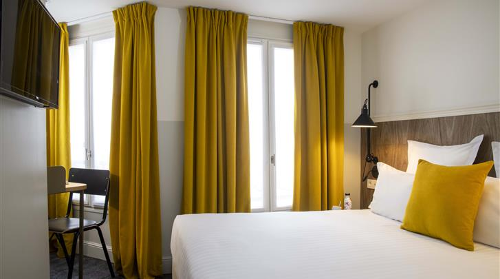 Parijs, Hotel Des Mines, Standaard kamer