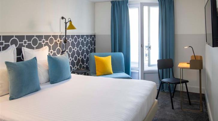 Parijs, Hotel Des Mines, Superior kamer