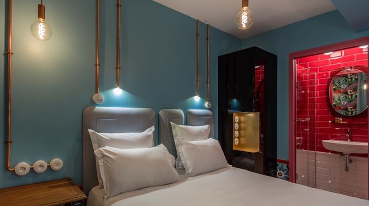 Parijs, Hotel Exquis, Standaard kamer Intemporelle