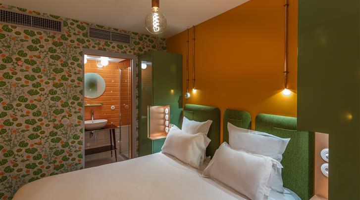 Parijs, Hotel Exquis, Superior kamer Insolite