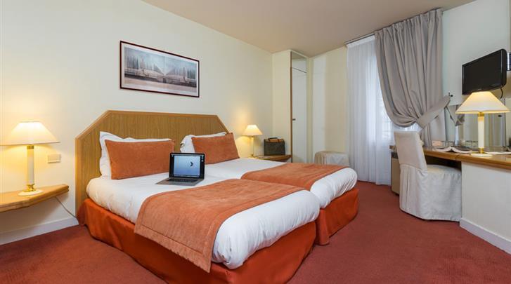 Parijs, Hotel Fertel Etoile, Standaard kamer