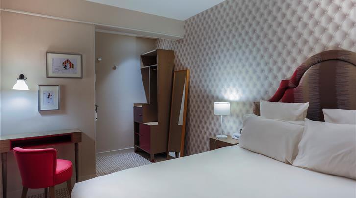 Parijs, Hotel La Parizienne, Curieuse kamer