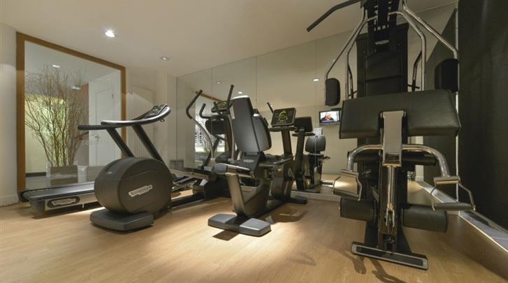 Parijs, Hotel Le Général, Fitnessruimte