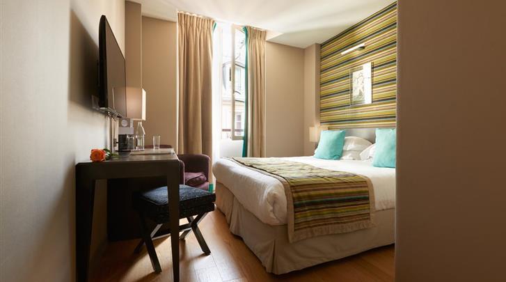 Parijs, Hotel le Mathurin, Standaard kamer