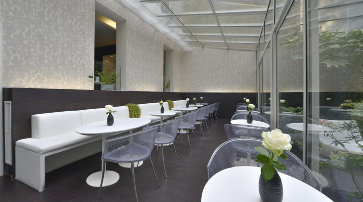 Parijs, Hotel Le Quartier Bercy-Square, Serre met ontbijtruimte