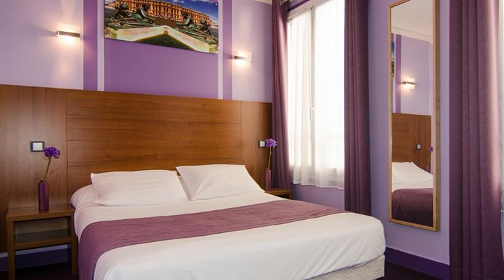 Parijs, Hotel Paris Bruxelles, Standaard kamer