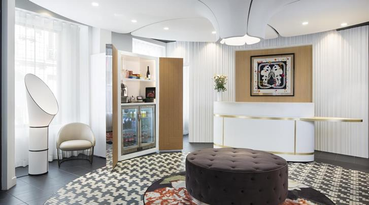 Parijs, Hotel Pastel, Lobby