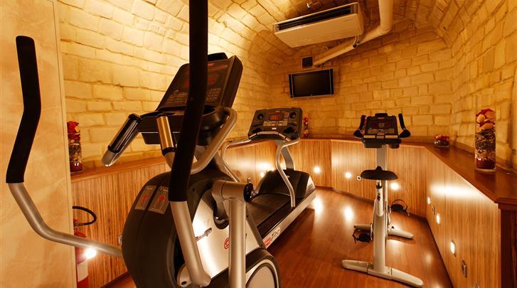 Parijs, Hotel Rochester Champs Elysées, Fitnessruimte