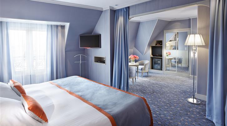 Parijs, Hotel Rochester Champs Elysées, Junior Suite Privilege