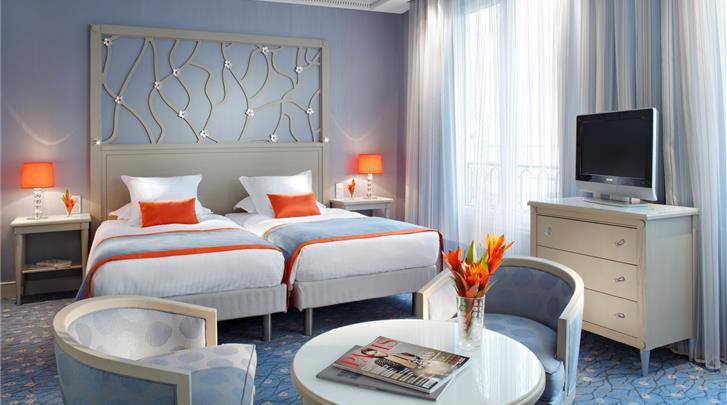Parijs, Hotel Rochester Champs Elysées, Superior Privilege