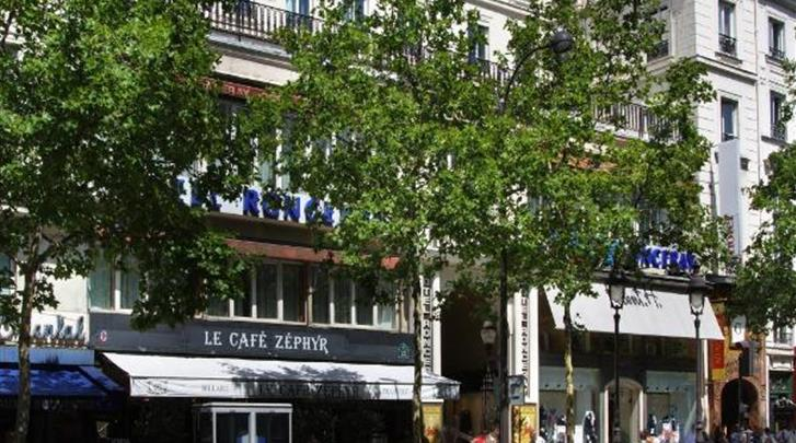 Parijs, Hotel Ronceray Opera, Façade hotel