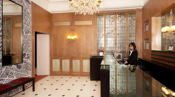 Parijs, Hotel Ronceray Opera, Receptie