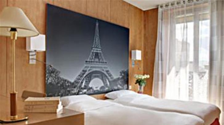 Parijs, Hotel Ronceray Opera, Standaard kamer