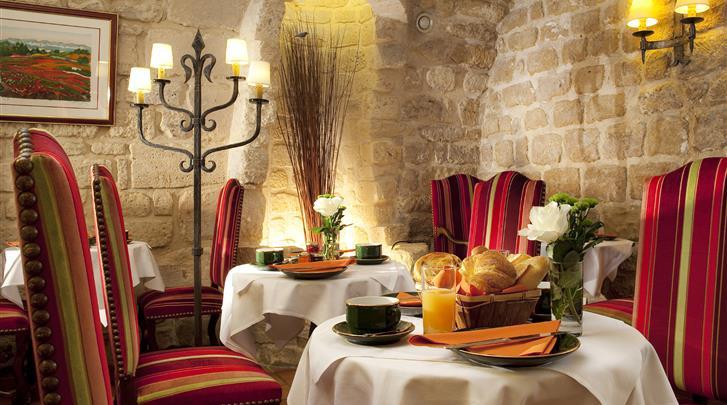 Parijs, Hotel Saint-Paul Rive Gauche, Restaurant