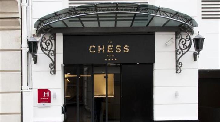 Parijs, Hotel The Chess, Façade hotel