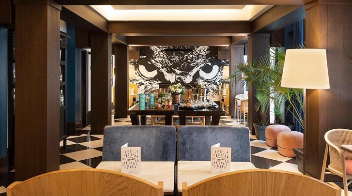 Parijs, Hotel The Chess, Lobby