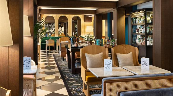 Parijs, Hotel The Chess, Ontbijtruimte