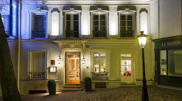 Parijs, Hotel Timhotel Montmartre, Façade hotel