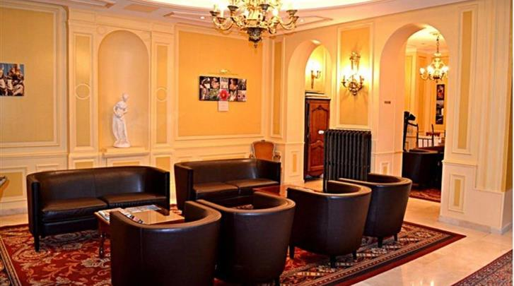 Parijs, Hotel Touring Opera, Lobby