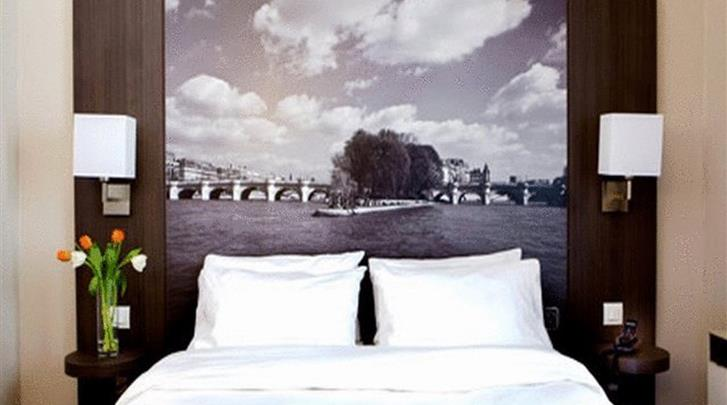 Parijs, Hotel Victoria, Standaard kamer