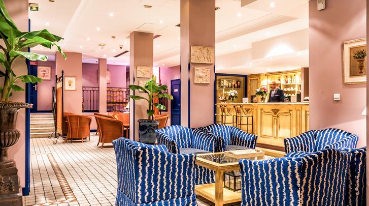 Parijs, Hotel Villa Alessandra, Lobby
