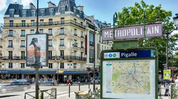 Parijs, Hotel Villa Royale Pigalle, Façade hotel