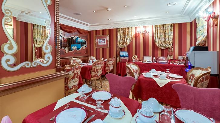 Parijs, Hotel Villa Royale Pigalle, Ontbijtruimte