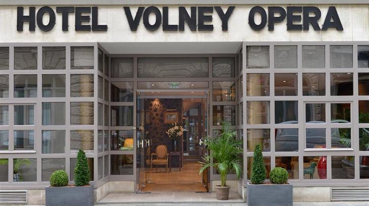 Parijs, Hotel Volney Opera, Façade hotel