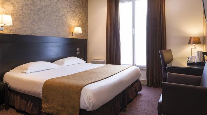 Parijs, Hotel Volney Opera, Standaard kamer
