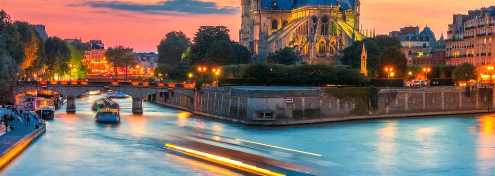 Parijs, Parijs by night