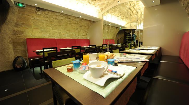 Parijs, Hotel Du Vieux Saule, Restaurant