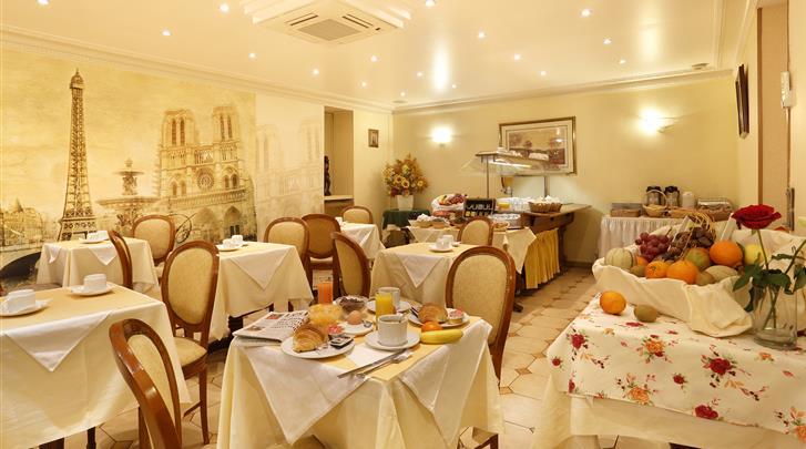 Parijs, Hotel Paix République, Restaurant