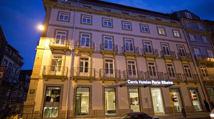 Porto, Hotel Carris Porto Ribeira, Façade hotel