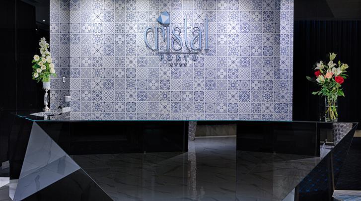 Porto, Hotel Crystal Porto, Receptie