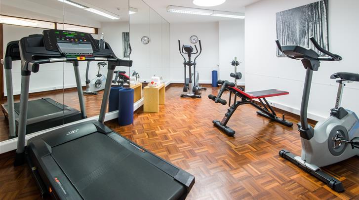 Porto, Hotel Dom Henrique, Fitnessruimte