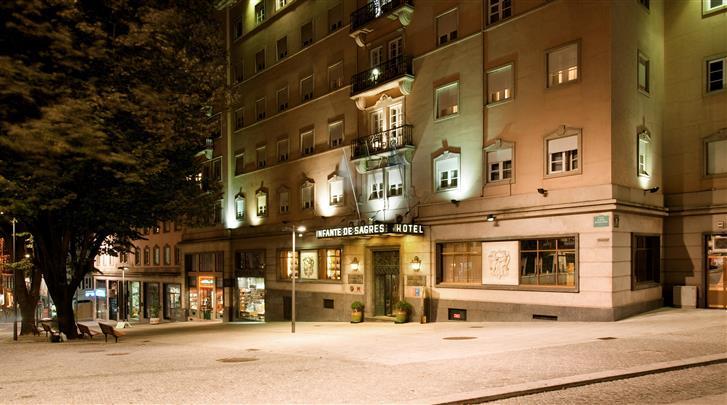Porto, Hotel Infante de Sagres, Façade hotel