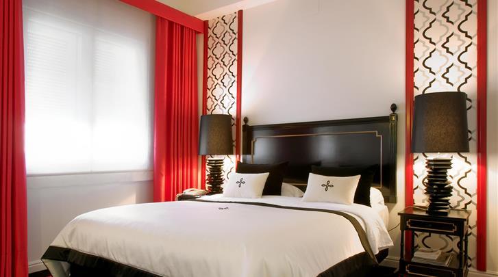 Porto, Hotel Infante de Sagres, Standaard kamer