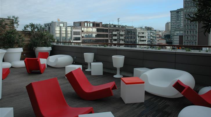 Porto, Hotel Porto Trindade, Dakterras