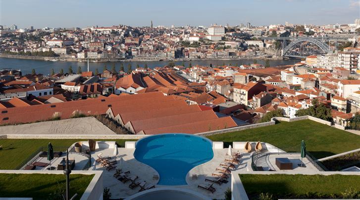 Porto, Hotel The Yeatman, Zwembad