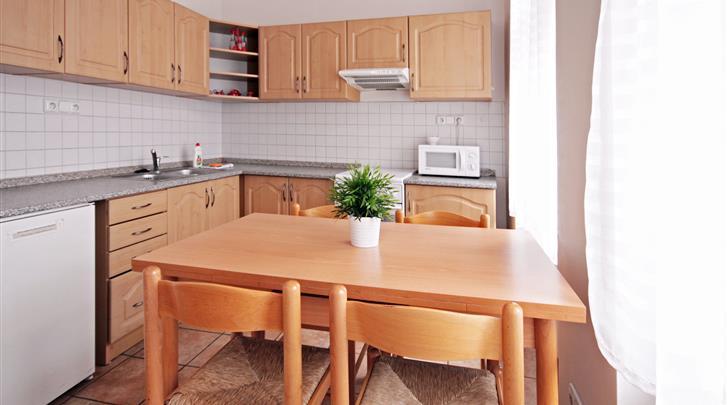 Praag, Appartementen Old Town, Appartement keuken