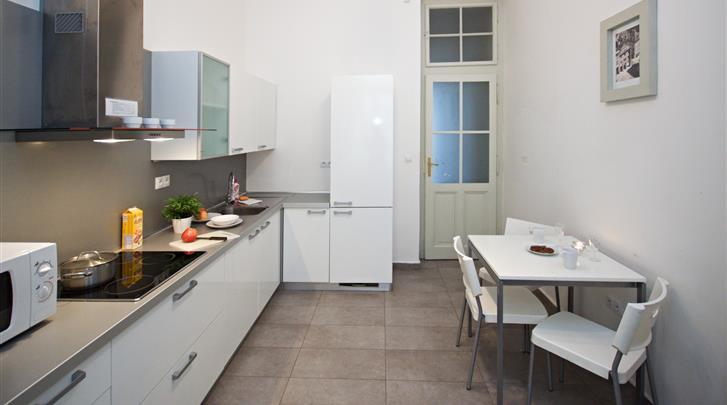 Praag, Appartementen River View, Appartement keuken