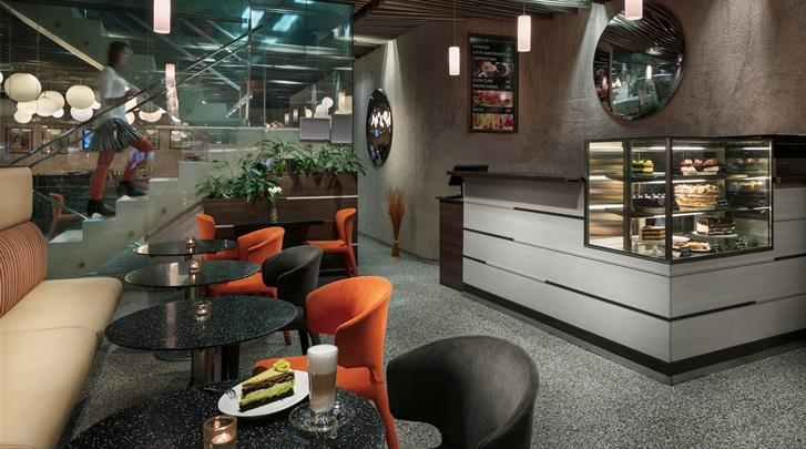Praag, Designhotel Metropol, Café-Bistro