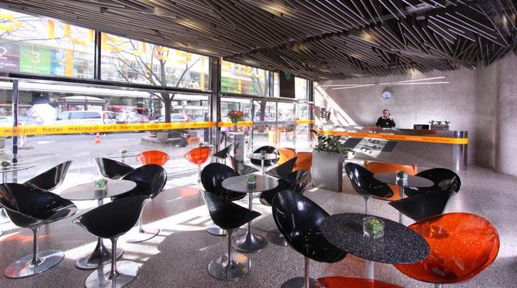 Praag, Designhotel Metropol, Lobby