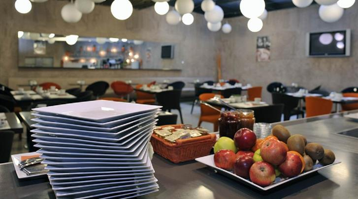 Praag, Designhotel Metropol, Ontbijtbuffet