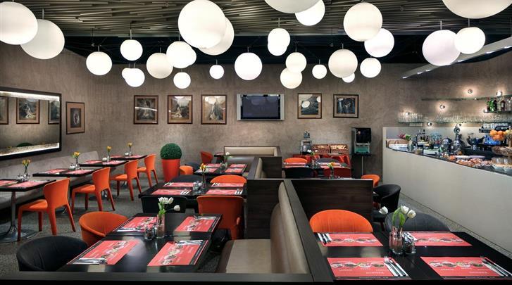 Praag, Designhotel Metropol, Restaurant